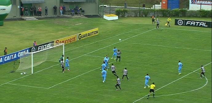 Tupi e Paysandu se enfentam pelas quartas de final da Série C (Foto: Reprodução/Sportv)