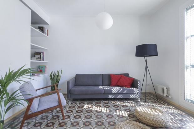 Apartamento minimalista em Barcelona para morar e trabalhar (Foto: Nieve/Divulgação)