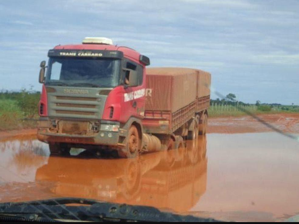 Em São José do Xingu, problemas dificultam escoamento de produções (Foto: Prefeitura de São José do Xingu/Divulgação)