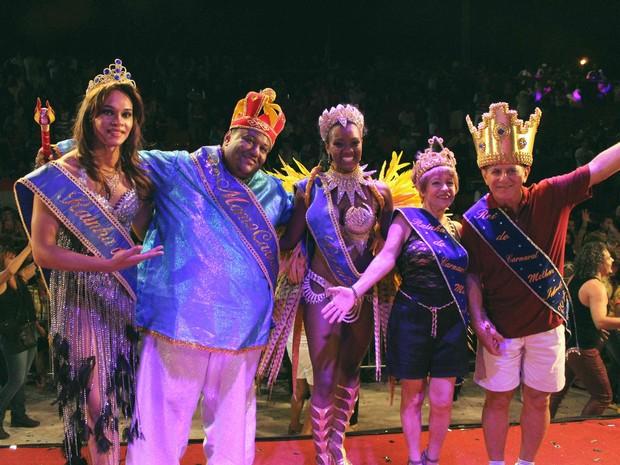 Realeza do carnaval bauruense 2016 (Foto: Divulgação / Assessoria )