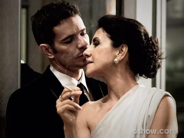 Gilda e Bruno (Foto: Fábio Rocha / TV Globo)