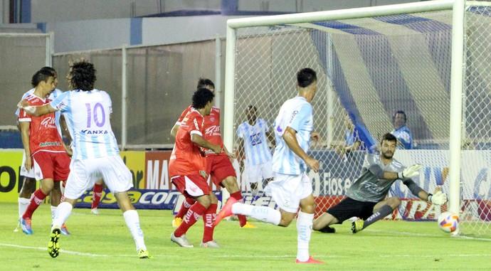 Macaé x Mogi Miri, no Estádio Moacyrzão (Foto: Tiago Ferreira/ Macaé Esportes)
