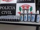 Comerciante acaba preso por venda de 'chumbinho' em Porto Primavera