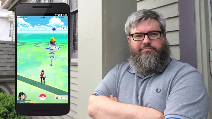 Boon Sheridan mora onde costumava haver uma igreja e agora tem um Gym de Pokémon Go em casa (Foto: Reprodução/Games Radar)