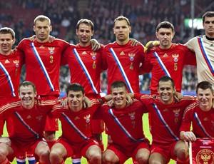 Rússia Seleção Euro 29/02/2012 (Foto: Agência AFP)