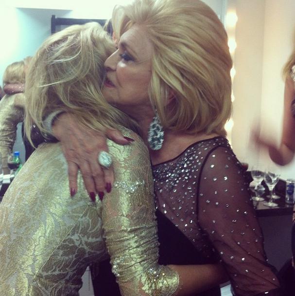 Luiza Possi e Hebe Camargo (Foto: Reprodução/Instagram)
