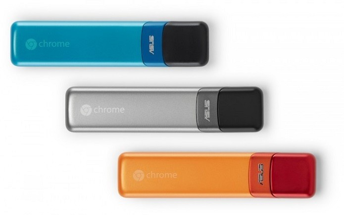Chromebit: Os dongles HDMI para serem usados em TVs e monitores (Foto: Divulgação)