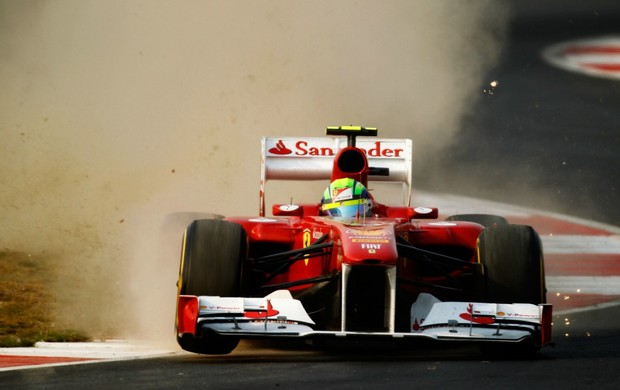 Felipe Massa no GP da Índia de 2011 (Foto: Getty Images)