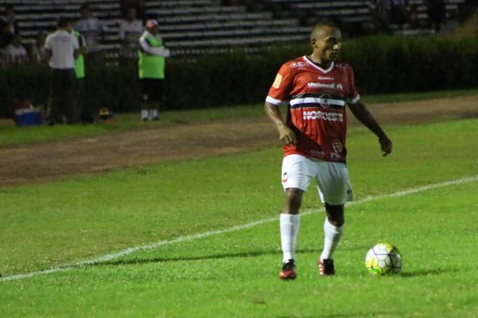 Fabinho - River-PI x Botafogo-PB (Foto: Wenner Tito)