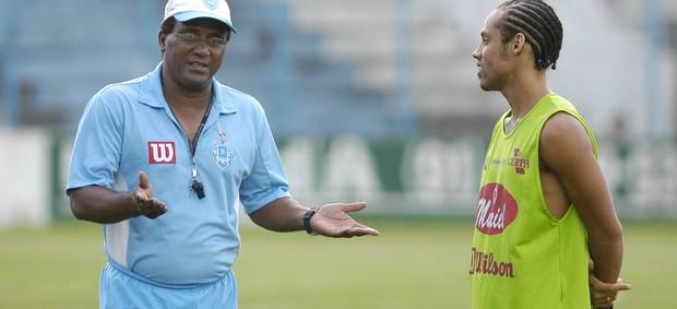 Samuel Cândido foi técnico do Paysandu em 2006 (Foto: Marcelo Seabra/O Liberal)