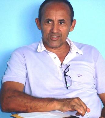 Sérgio Caranguejo, presidente do São Raimundo (Foto: Ribamar Rocha)