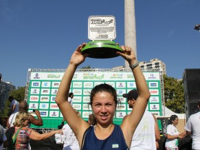 Fernanda da Nóbrega: segunda colocada na corrida e caminhada criança esperaça 2013 (Foto: Divulgação/Isabel Butcher)