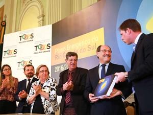 Plano Energético do RS é lançado no Palácio Piratini (Foto: Karine Viana/Palácio Piratini)