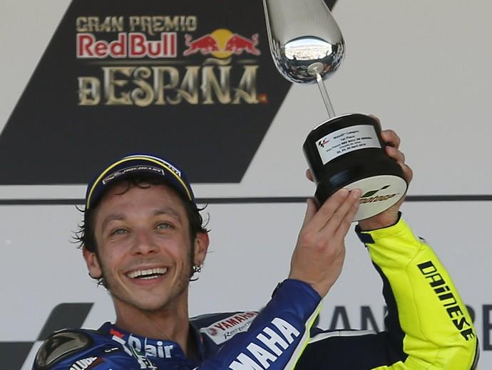 Valentino Rossi campeão GP da Espanha MotoGP (Foto: EFE)