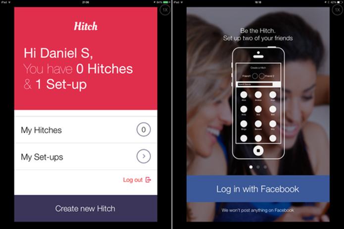 Hitch permite iniciar chats anônimos com contatos do Facebook (Foto: Reprodução/TechTudo)