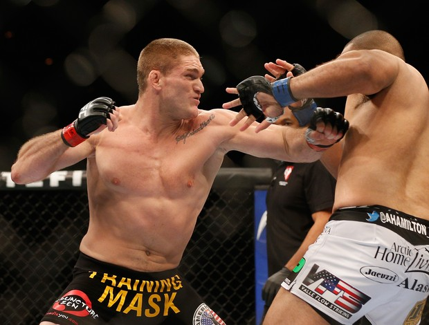 Todd Duffee x Anthony Hamilton, UFC 181 (Foto: Getty Images)