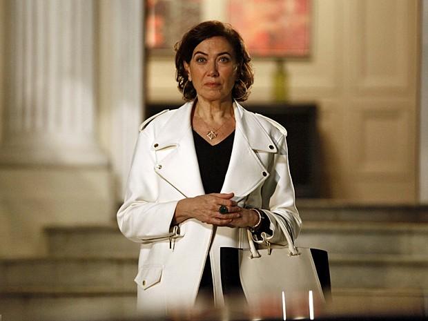 Maria Marta promete dar a volta por cima! (Foto: Império / TV Globo)