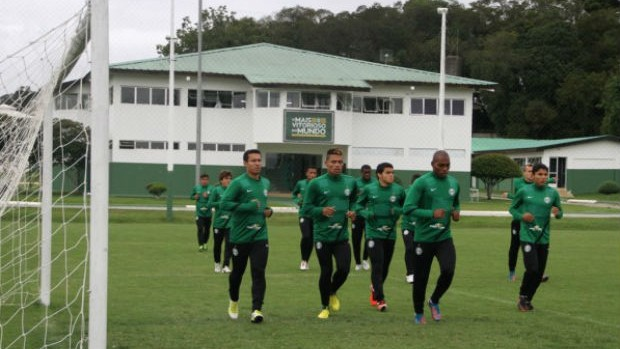 Coritiba reapresentação treino CT da Graciosa (Foto: Divulgação / Site oficial do Coritiba)