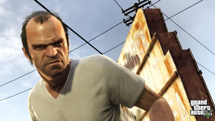 Trevor Phillips de GTA 5 (Foto: Divulgação/Rockstar)