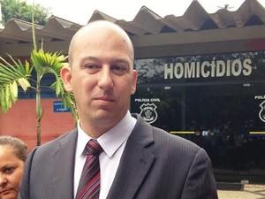Murilo Polati afirma que vigilante reduziu o número de assassinatos cometidos por ele em Goiânia, Goiás (Foto: Luisa Gomes/ G1)