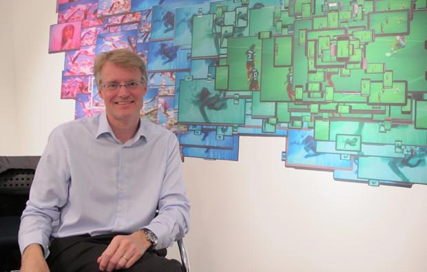 Maarten de Vries, CEO da joint venture TP Vision/Philips (Foto: Amanda Demetrio/G1)