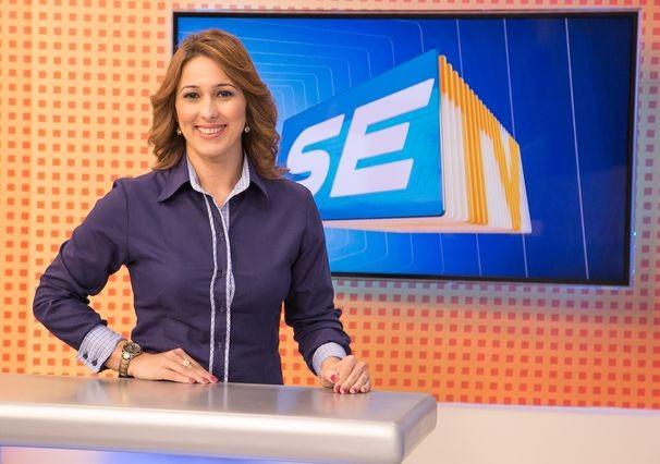 Susane Vidal passa a apresentar o SETV 2ª Edição (Foto: Divulgação / TV Sergipe)
