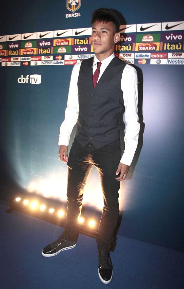 Neymar, Prêmio Brasileirão 2012 (Foto: Miguel Schincariol )