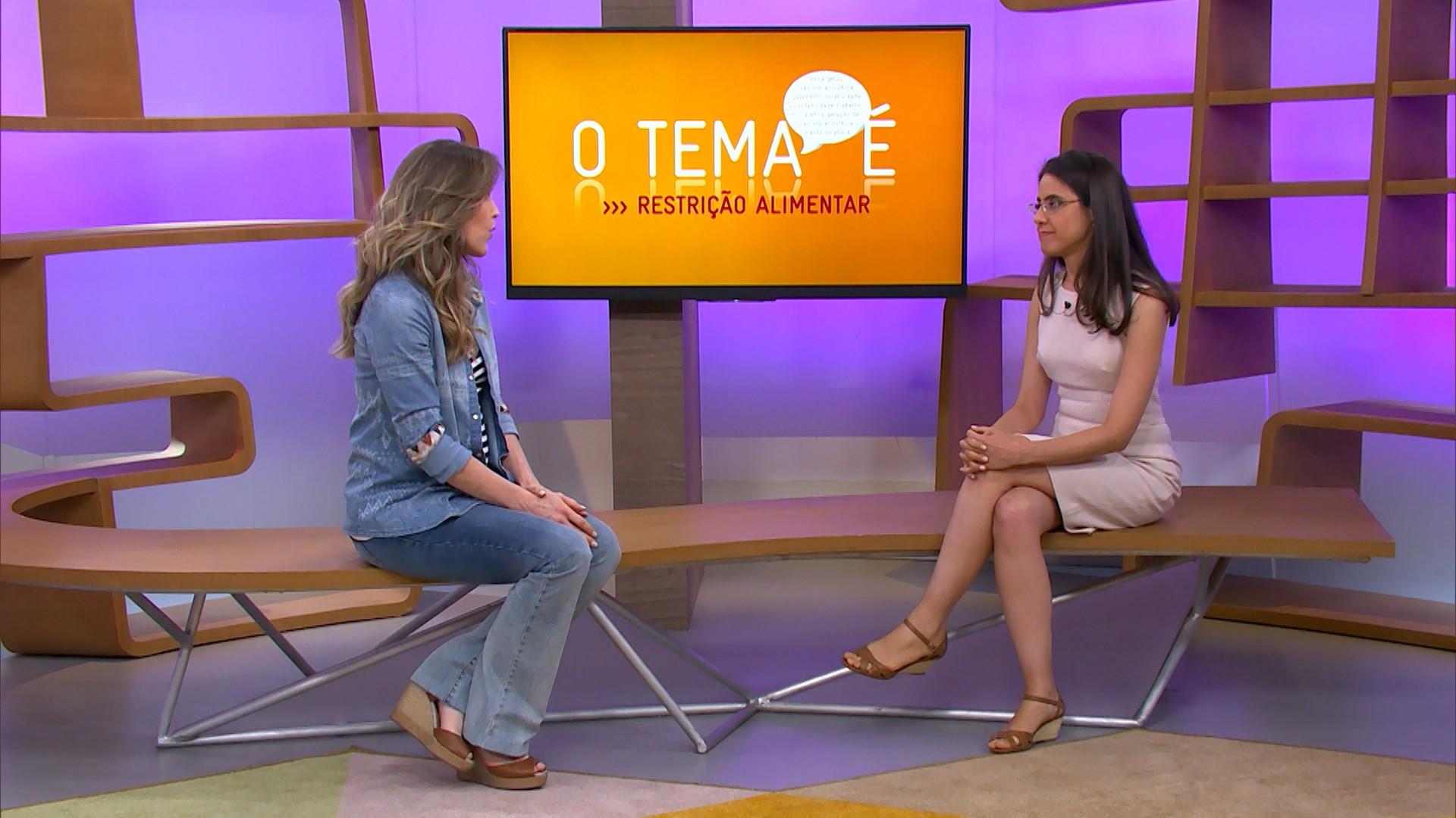 A nutricionista Maria Carolina fala sobre restrições alimentares no Como Será? (Foto: Globo)