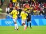 Teo Gutiérrez volta a marcar, Colômbia supera Nigéria e vai pegar Brasil