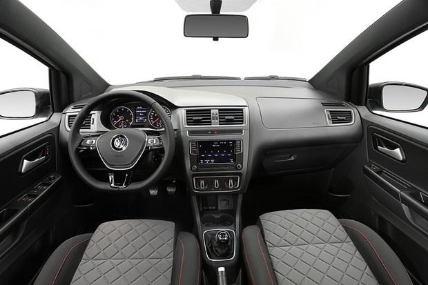 Volkswagen Fox Xtreme 2018 interior (Foto: Divulgação)