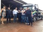 Caminhão guincho é entregue ao 6º Batalhão da PM em Guajará-Mirim