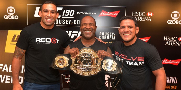 Fabricio Werdum Rafael Cordeiro Rafael dos Anjos UFC MMA (Foto: André Durão)
