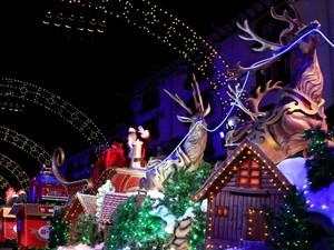 Desfile Natal Luz Gramado (Foto: Cleiton Thiele/SerraPress Divulgação)