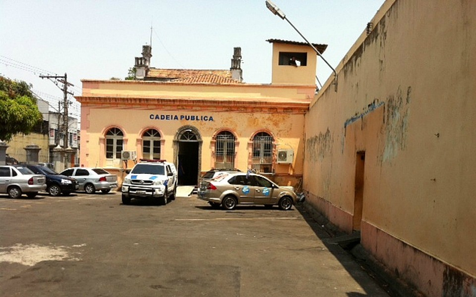 Cadeia Pública Raimundo Vidal Pessoa, Centro de Manaus (Foto: Adeison Severiano/G1 AM)