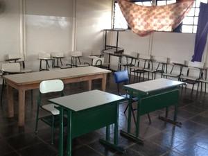 Detentos de Goiás estudam e se preparam para fazer o Enem prisional 3 (Foto: Sílvio Túlio/G1)