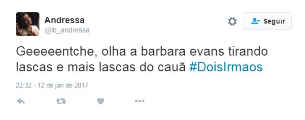 Cena quente de Cauã Reymond Bárbara Evans bomba na web (Foto: Reprodução / Twitter)
