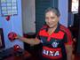 Torcedora registra todos os jogos do Flamengo desde 1984