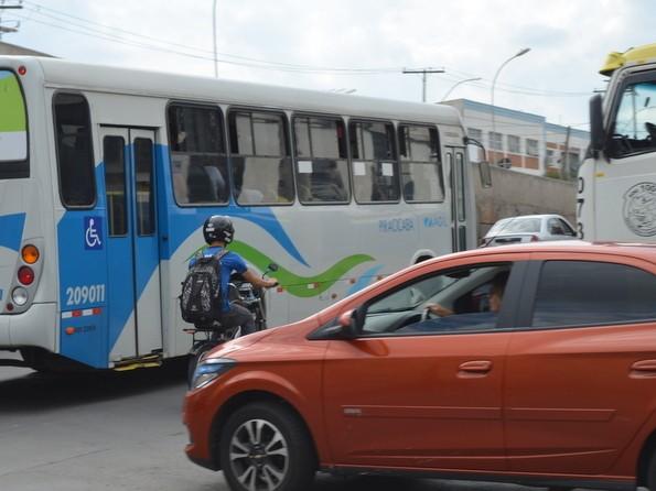 Cruzamento das avenidas 1º de Agosto com Conde do Pinhal, em Piracicaba (Foto: Claúdia Assencio/G1)