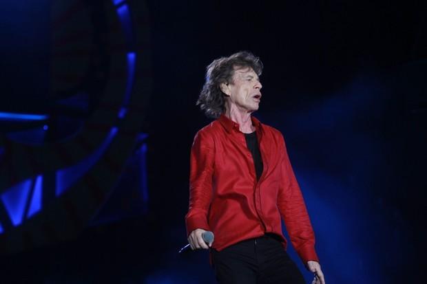 Mick Jagger (Foto: Marcello Sá Barretto  / AgNews)