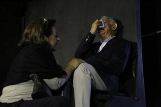 Velório Umberto Magnani - Irmão (Foto: Leo Franco/ Ag. News)