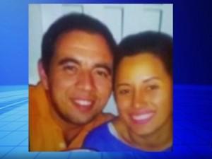 Thiago e Keila foram encontrados mortos em casa (Foto: Reprodução/ TV TEM)