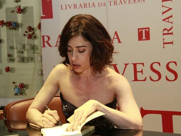 Lançamento do livro de Fernanda Torres (Foto: Isac Luz / EGO)