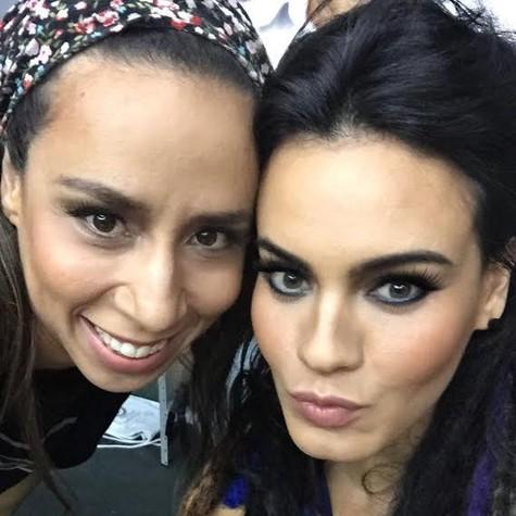Letícia Lima com Thalita Carauta (Foto: Divulgação)