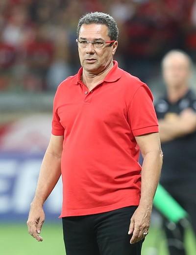 Luxemburgo Atlético-MG x Flamengo (Foto: Cristiane Mattos / Ag. Estado)