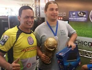 Torneio de futebol digital e virtual (Foto: Arquivo Pessoal/ Henrique Leite)