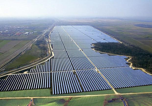 Projeto da usina fotovoltaica de Ituverava, na Bahia (Foto: Divulgação/Enel)