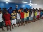 Presidiários integravam quadrilha de 50 envolvida com o tráfico, no Pará
