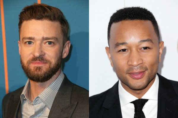 Justin Timberlake e John Legend (Foto: Getty Images)