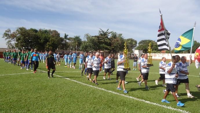 Encontro Interestadual de Futebol Master, em Regente Feijó (Foto: Francisco Brasi / Cedida)