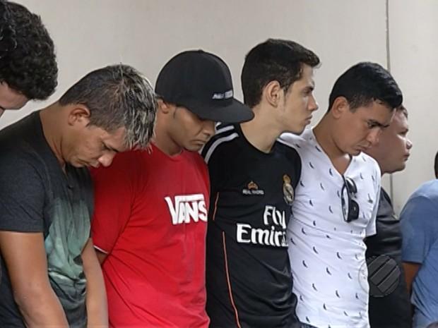 Suspeitos de tentar fraudar concurso dos Bombeiros são presos em Belém (Foto: Reprodução/TV Liberal)